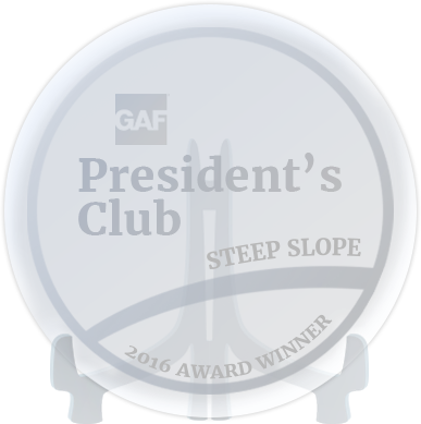 president club award roofers edmonton