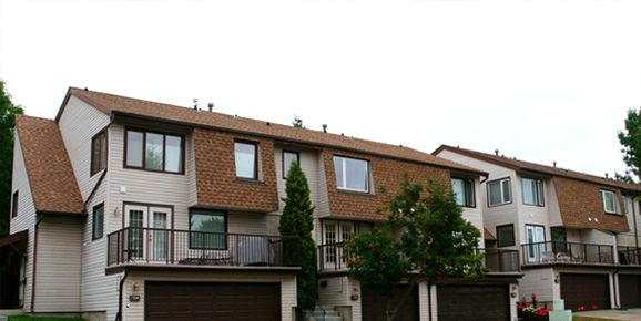 Edmonton roofs for condominiums